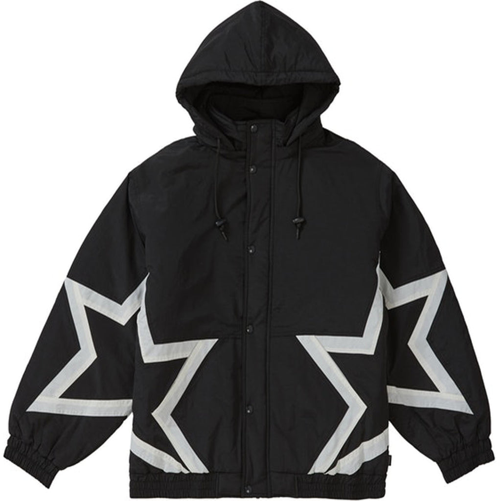 Supreme Stars Puffy Jacket- Black