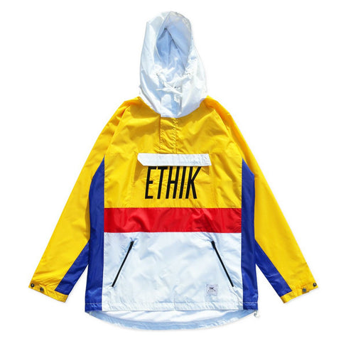 Ethik Primary Anorak - Yellow/White