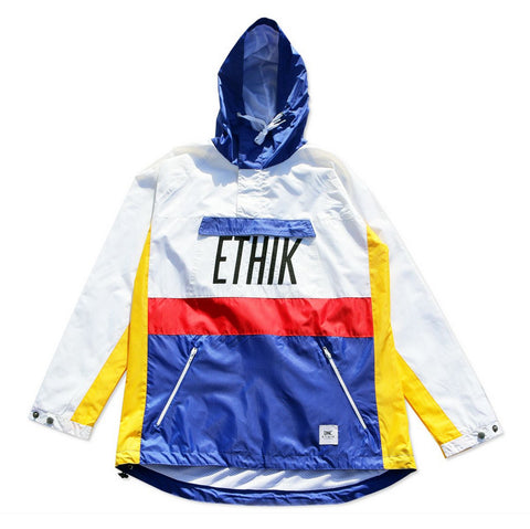 Ethik Primary Anorak - White/Blue