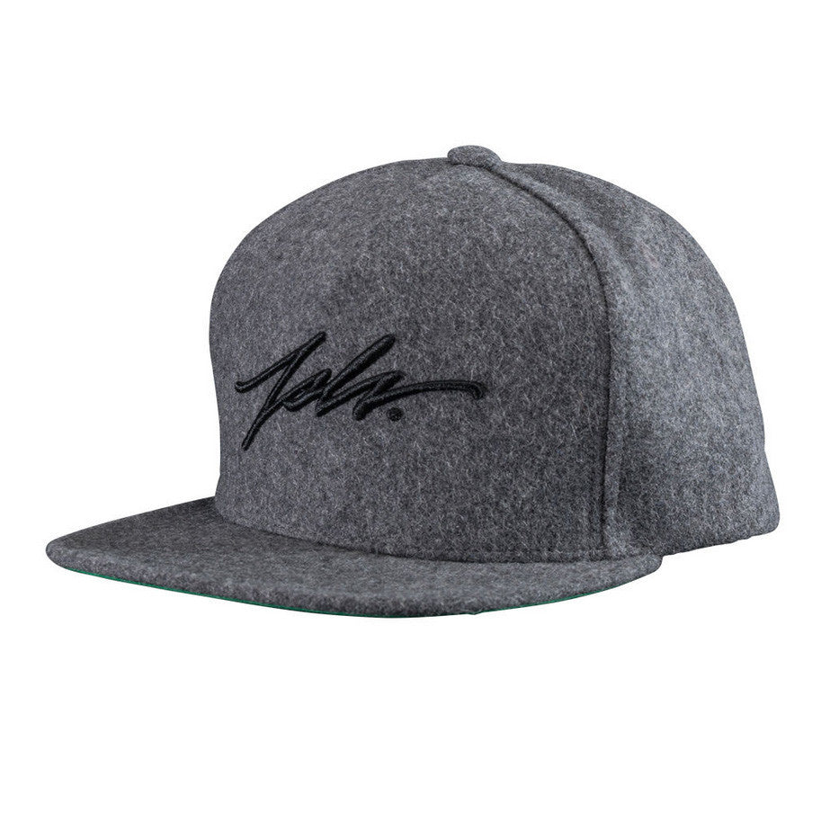 SIGNATURE WOOL SNAP BACK - GREY