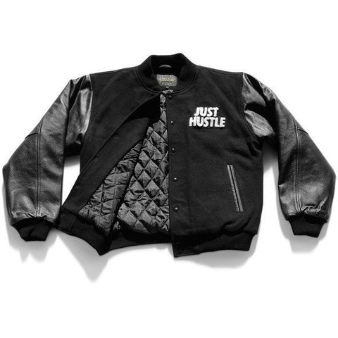 Just Hustle Leather Jacket
