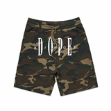 Inserted Logo Shorts