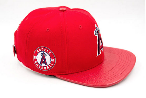 LOS ANGELES ANGELS LOGO (Red)