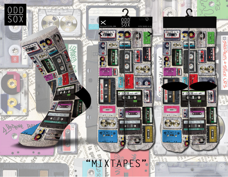 Mix Tapes Socks