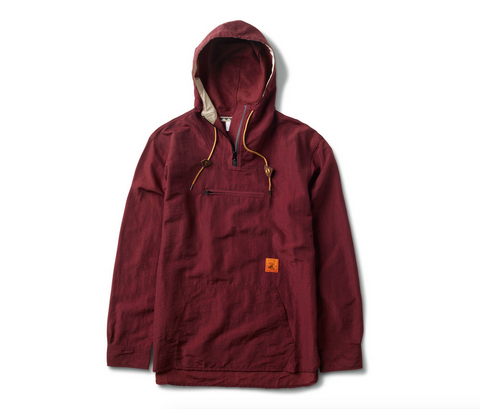 GAME ASSOCIATION ANORAK -BURGUNDY