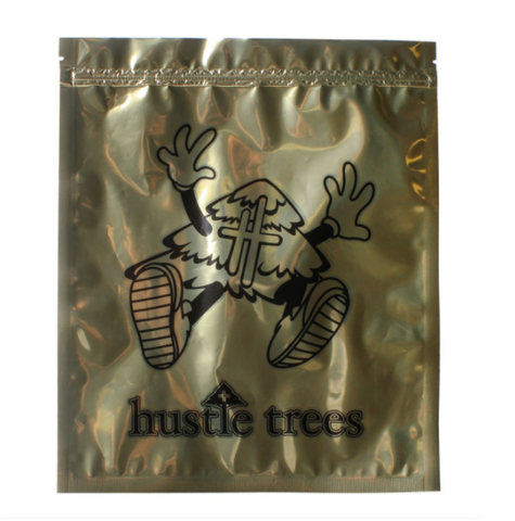 Hustle Trees Large Foil Smelly Proof Bag