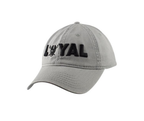 LOYAL PIRATE STRAPBACK - gray