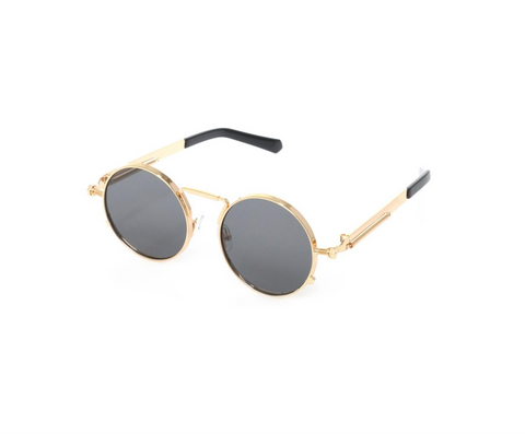 Notorious Sunglasses (Black/Gold)