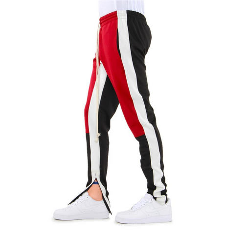 COLOR BLOCK TRACK PANTS