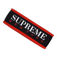 Supreme Fleece Headband -RED