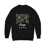 Dope Kings Camo Crewneck