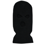 3-Hole Ski Mask (Black)