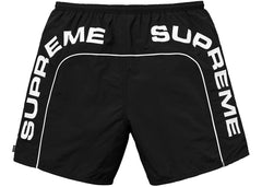 Supreme Arc Logo Water Short- Black