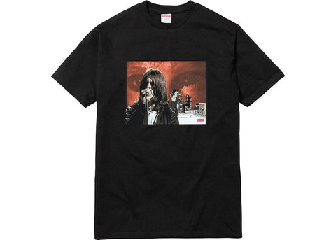 Supreme Black Sabbath Paranoid Tee- Black