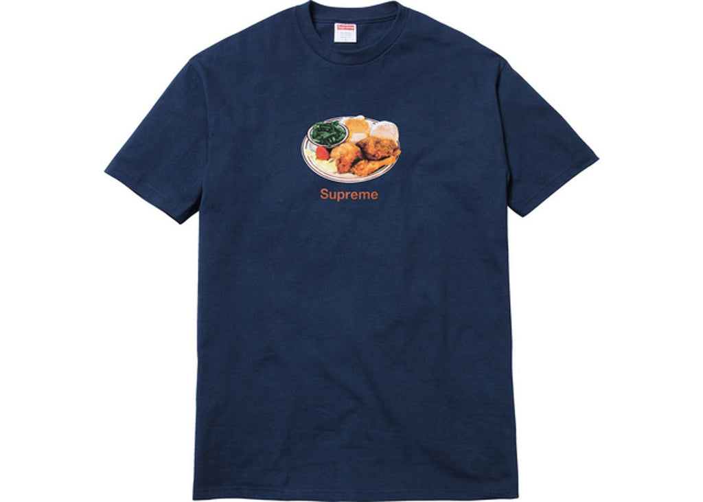 Supreme Chicken Dinner Tee- Navy