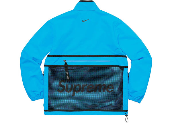 Supreme Nike Trail Running Jacket Blue Street Wear Official