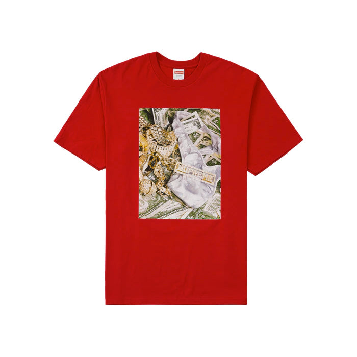 Supreme Bling Tee- Red
