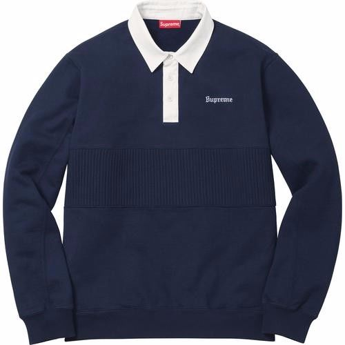 Supreme Rugby Sweater - Navy
