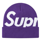 Supreme Big Logo Beanie (FW20)- Purple