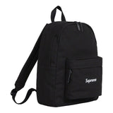 Supreme Canvas Backpack- Black