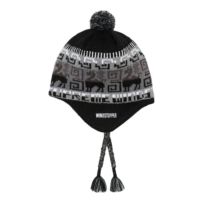 Supreme Chullo WINDSTOPPER® Earflap Beanie- Black