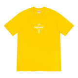 Supreme Cross Box Logo Tee- Yellow