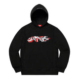 Supreme Delta Logo Hooded Sweatshirt- Black