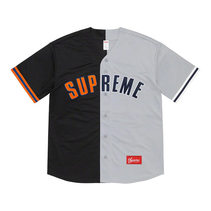 Supreme Don't Hate Baseball Jersey- Black