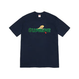 Supreme Lizard Tee- Navy