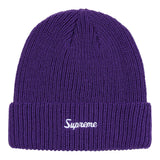Supreme Loose Gauge Beanie (FW20)- Purple
