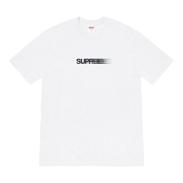 Supreme Motion Logo Tee (SS20)- Ash Grey
