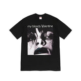 Supreme My Bloody Valentine Feed Me With Your Kiss Tee- Black