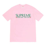 Supreme Nuova York Tee- Light Pink