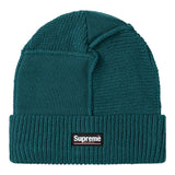 Supreme Paneled Seam Beanie- Work Teal