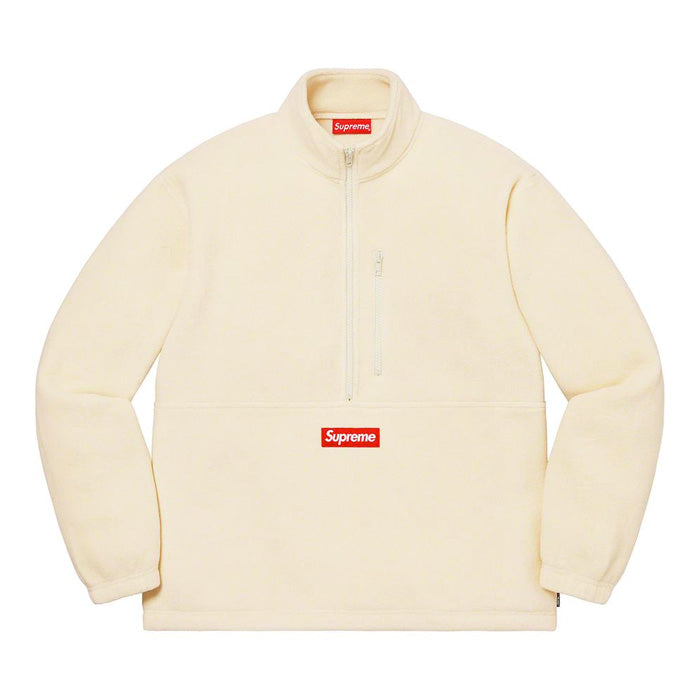 Supreme Polartec® Half Zip Pullover- Natural