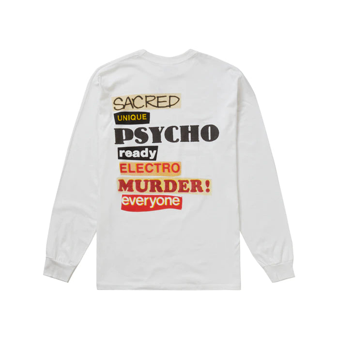 Supreme Sacred Unique L/S Tee- White