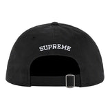 Supreme Shell Patch 6-Panel- Black