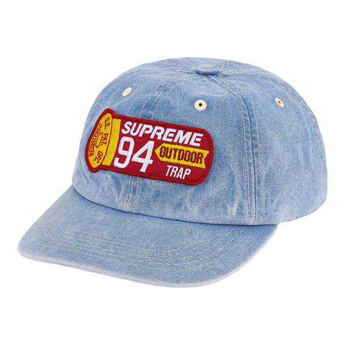 Supreme Shell Patch 6-Panel- Denim