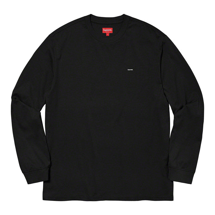 Supreme Small Box L/S Tee- Black