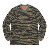 Supreme Small Box L/S Tee (SS21)- Tigerstripe Camo