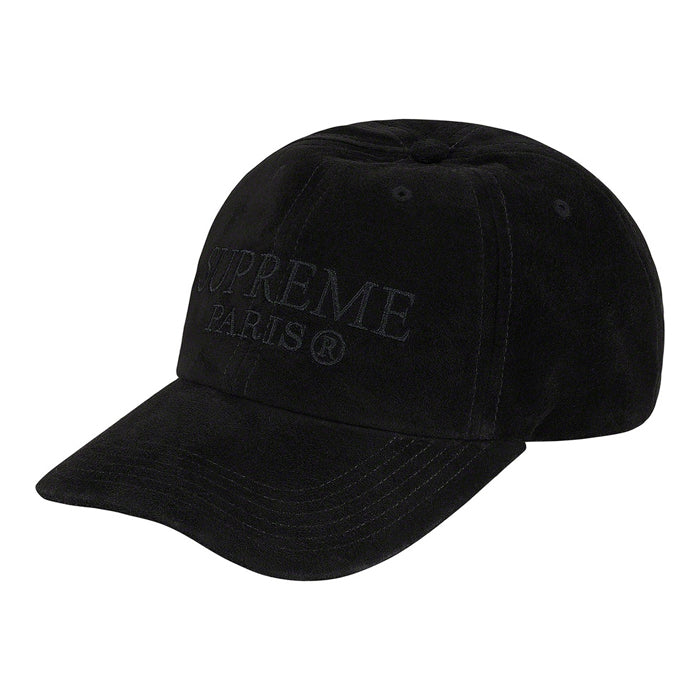 Supreme Suede 6-Panel- Black
