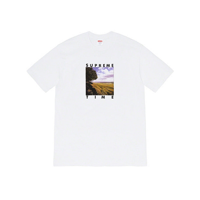 Supreme Time Tee- White