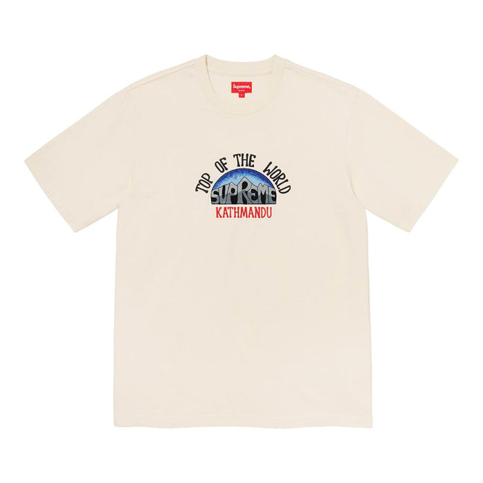 Supreme Top of the World S/S Top- Natural