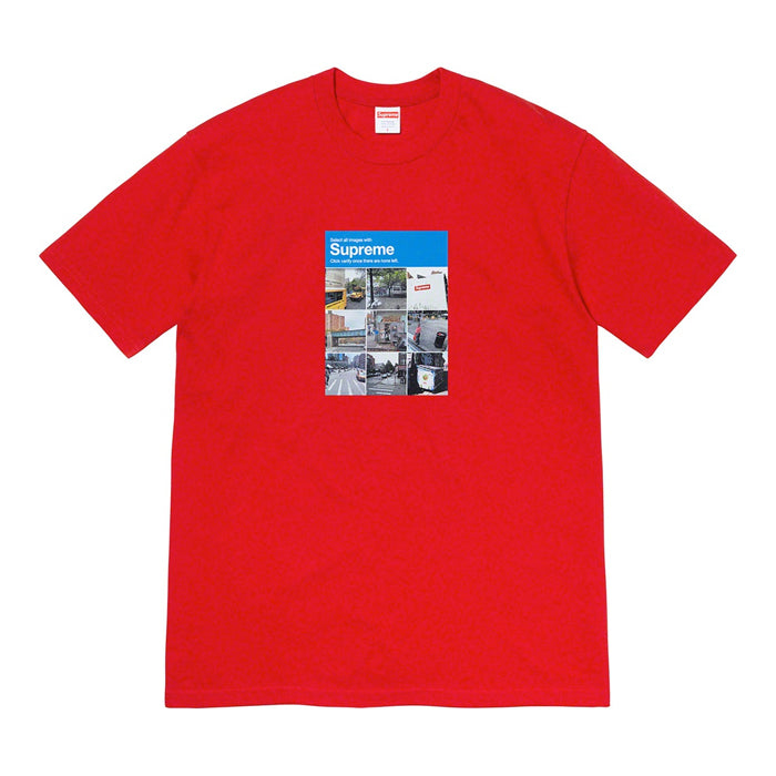 Supreme Verify Tee- Red