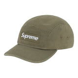 Supreme Washed Chino Twill Camp Cap (FW20)- Olive