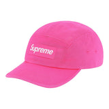 Supreme Washed Chino Twill Camp Cap (FW20)- Pink