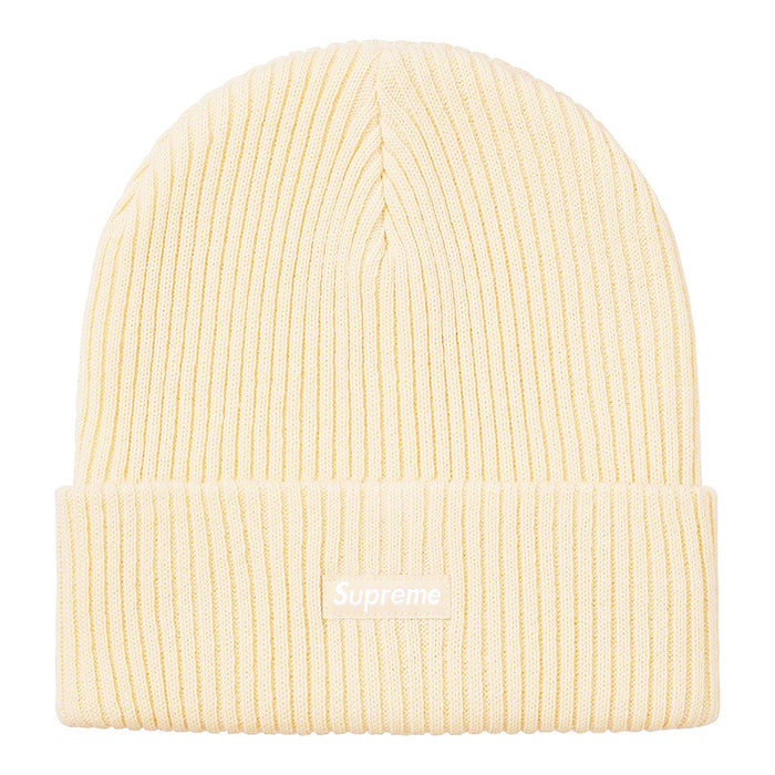 Supreme Wide Rib Beanie- Natural