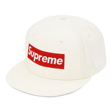 Supreme World Famous Box Logo New Era®- White