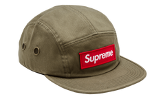Supreme 5 Panel Olive Camper Hat Fw 16
