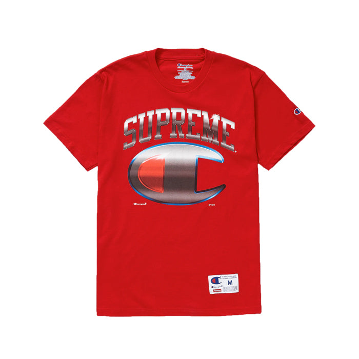 Supreme Champion Chrome S/S Top SS19- Red